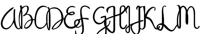 Sandat Regular Font UPPERCASE