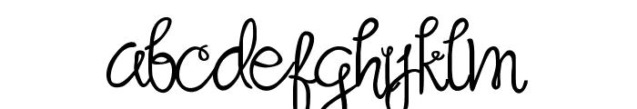 Sandat Regular Font LOWERCASE