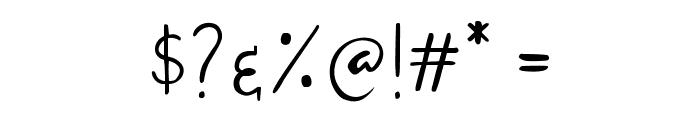 Sandat Font OTHER CHARS