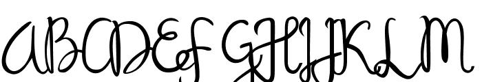 Sandat Font UPPERCASE