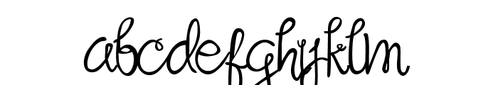 Sandat Font LOWERCASE