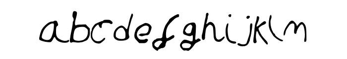 SandcastleMedium Font LOWERCASE