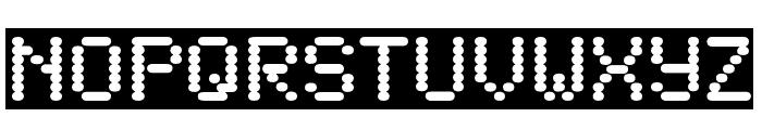 SandersDFiveOpti-Reverse Font UPPERCASE