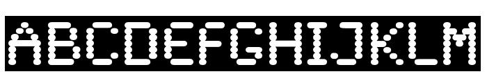 SandersDFiveOpti-Reverse Font LOWERCASE