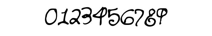 SandersHand Font OTHER CHARS