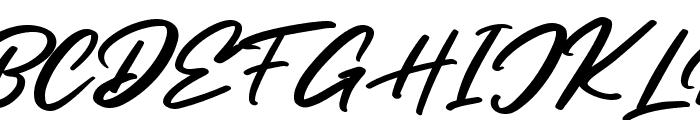 Sandiego Font UPPERCASE