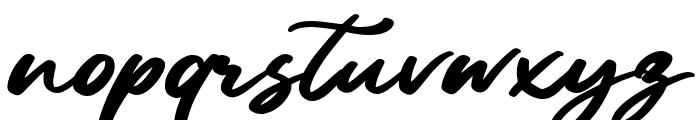 Sandiego Font LOWERCASE