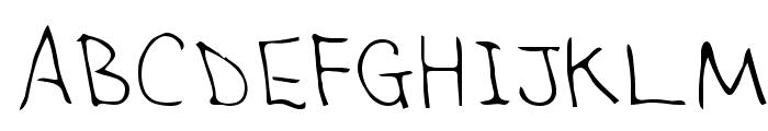 Sandra Regular Font UPPERCASE