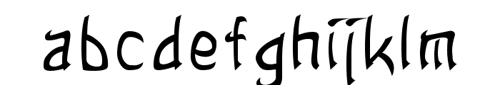 Sands of Fire  Normal Font LOWERCASE