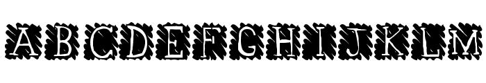 Sandspiel Font UPPERCASE