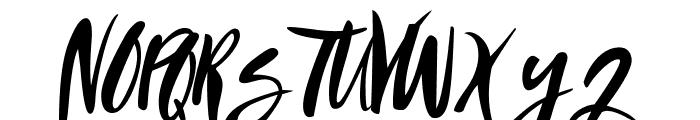 SandyLite-Regular Font UPPERCASE