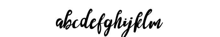 SandyLite-Regular Font LOWERCASE