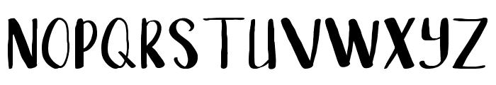 Sangkala Regular Font UPPERCASE