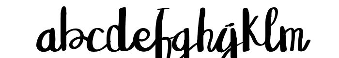 Sangkala Regular Font LOWERCASE