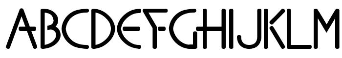 Sanhedrin Font UPPERCASE