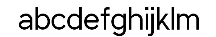 Sani Trixie Sans Regular Font LOWERCASE