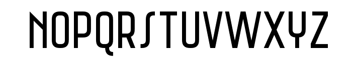 Saniretro Regular Font UPPERCASE