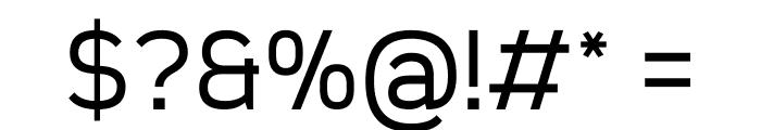Sanitrixie Regular Font OTHER CHARS