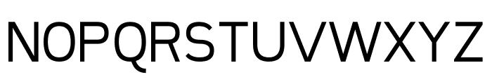 Sanitrixie Regular Font UPPERCASE