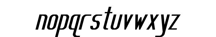 Sanity Bold Italic Font LOWERCASE