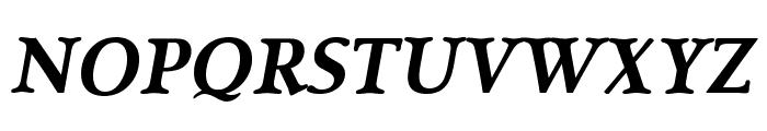 SanlioUT BoldItalic Font UPPERCASE