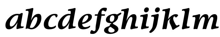 SanlioUT BoldItalic Font LOWERCASE