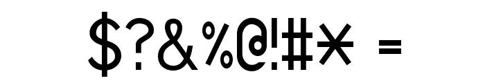 Sans I Am Font OTHER CHARS