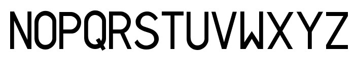 Sans I Am Font UPPERCASE