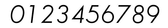 SansSerifBookFLF-Italic Font OTHER CHARS