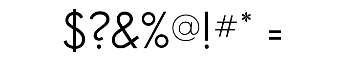SansSerifBookFLF Font OTHER CHARS