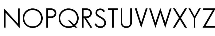 SansSerifBookFLF Font UPPERCASE