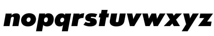 SansSerifExbFLF-Italic Font LOWERCASE