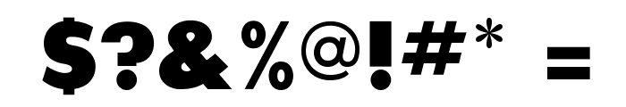 SansSerifExbFLF Font OTHER CHARS