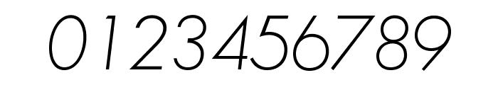 SansSerifFLF-Italic Font OTHER CHARS