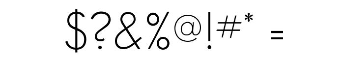 SansSerifFLF Font OTHER CHARS