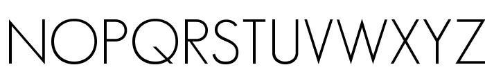 SansSerifFLF Font UPPERCASE