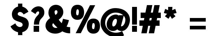 SansSerifVarying-Black Font OTHER CHARS