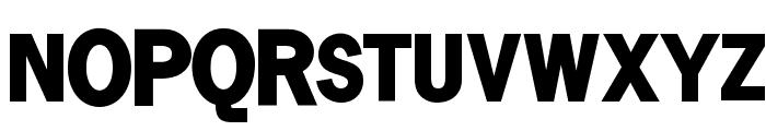 SansSerifVarying-Black Font UPPERCASE
