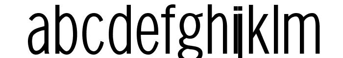 SansXHigh Font LOWERCASE