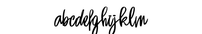 Sansa Regular Font LOWERCASE