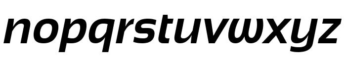 Sansation Bold Italic Font LOWERCASE