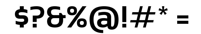 Sansation Bold Font OTHER CHARS