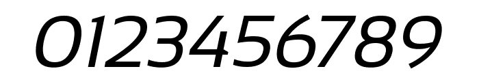 Sansation Italic Font OTHER CHARS