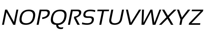 Sansation Italic Font UPPERCASE