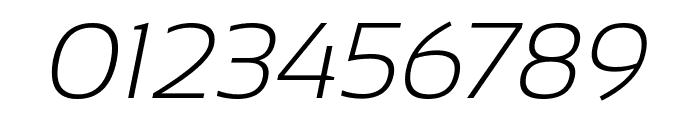 Sansation Light Italic Font OTHER CHARS