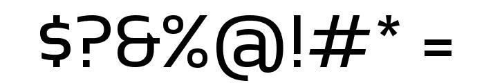 Sansation Regular Font OTHER CHARS