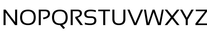 Sansation Regular Font UPPERCASE