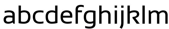 Sansation Regular Font LOWERCASE