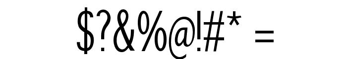 SansibarCX-Condensed Font OTHER CHARS
