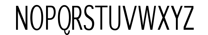 SansibarCX-Condensed Font UPPERCASE